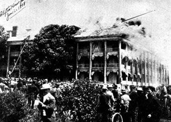 clifton historical niagara falls fire early june 1898